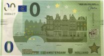 0 Euro Biljet Amsterdam