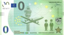 0 Euro Schiphol Amsterdam Airport Holland