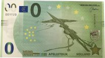 0 Euro biljet Afsluitdijk
