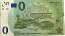 0 Euro biljet Pier Scheveningen