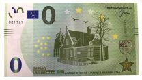 0 Euro biljet Zaanse Schans - Mayor's Mansion 1734