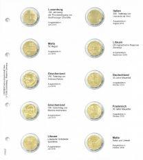 1118-27 Lindner 2 euro voordrukblad