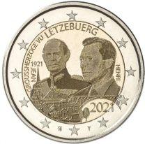 2 Euro 100 jaar Jean Foto 2021