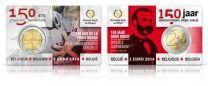 2 Euro Belgie 2014 150 jaar Rode Kruis