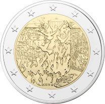 2 Euro Frankrijk 2019 Berlijnse Muur