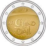 2 Euro Ierland Dáil Éireann 2019