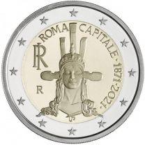 2 Euro Italie 2021 Capitale Rome