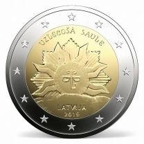 2 Euro Letland 2019 Sunrise