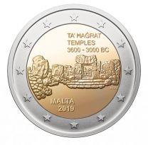 2 Euro Malta 2019 Ta Hagrat