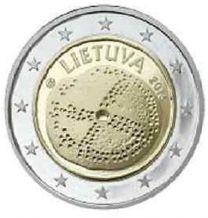 2 Euro litouwen 2016 Baltische Cultuur