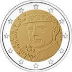 2 euro herdenkingsmunt Stefanik Slowakije 2019