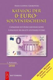 Battenberg catalogus 0-Euro souvenir Bankbiljetten 2018
