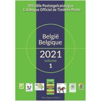 Belgie OBP OCB Catalogus 2021