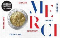 Frankrijk Merci 2 euro 2020