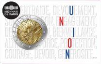 Frankrijk Union 2 euro 2020