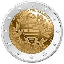 Griekenland 2 Euro 2021 Onafhankelijkheid 200 jaar