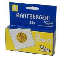 Hartberger Munthouders om te nieten 32,5 25x 8330325