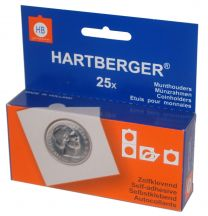 Hartberger Munthouders zelfklevend Assorti   25x 8320002