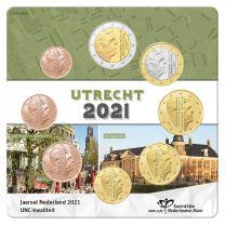 Jaarset 2021 Nederland UNC Utrecht 1