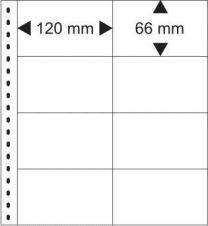 Lindner 040 Omnia zwart 10x