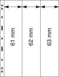 Lindner 063 UNIPLATE zwart 5x