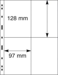 Lindner 079 UNIPLATE zwart 5x