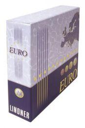 Lindner 1108K cassette voor album voor series euromunten