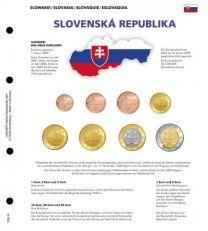 Lindner 1109-19 Voordrukblad Slowakije + K8 muntblad
