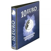 Lindner 1110R lege band 10 Euro verzamelmunten met polymeerring Duitsland