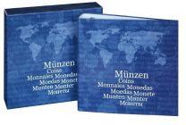Lindner 1116 Karat muntalbum Basic + cassette Leeg
