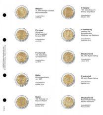 Lindner 1118-10 Voordrukblad Belgie 2012 - Duitsland 2013 + K3 muntblad