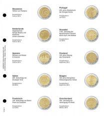Lindner 1118-11 Voordrukblad Slovenie 2013 + K3 muntblad