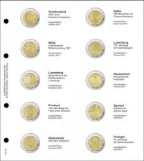 Lindner 1118-12 Voordrukblad Griekenland 2013 + K3 muntblad