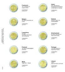 Lindner 1118-21 Voordrukblad Frankrijk 2017 - Litauwen 2017 + K3 muntblad
