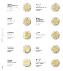 Lindner 1118-24 Voordrukblad Spanje 2018 - Portugal 2018 + K3 muntblad