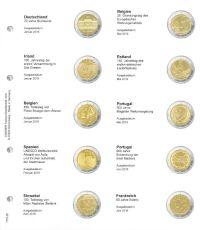 Lindner 1118-26 muntbladen 2019  + karat muntblad K3