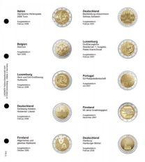 Lindner 1118-2 Voordrukblad Italie 2006 - Duitsland 2008 + K3 muntblad