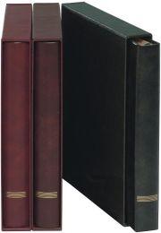 Lindner 1120 A4 set, band met cassette, kleur naar keuze