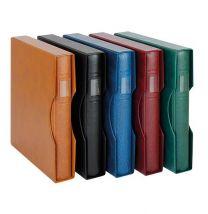 Lindner 1124OM set inclusief 30 stuks Omnia bladen en kleur band naar keuze