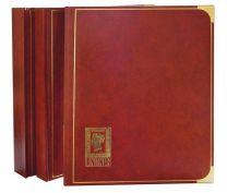 Lindner 1152 insteekalbum groot formaat 60 blz zwart , kleur lichtbruin