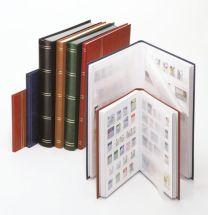 Lindner 1167  insteekalbum groot formaat 64 blz. wit, kleur naar keuze