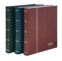 Lindner 1175 insteekalbum groot formaat 64 blz wit, kleur naar keuze