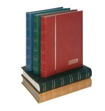 Lindner 1180 insteekalbum groot formaat 60 blz wit. Kleur naar keuze