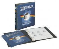 Lindner 1520 voordrukalbum zilveren 20 Euro munten Duitsland