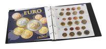 Lindner 1608M voordrukalbum voor series euromunten