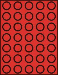 Lindner 2104 muntenbox standaard R-31 mm