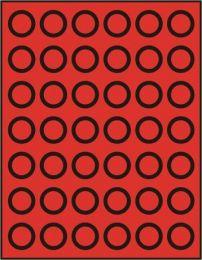 Lindner 2107 muntenbox standaard R-27,5 mm