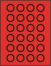 Lindner 2110 muntenbox standaard R-32,5 mm