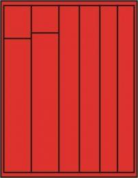 Lindner 2145 muntenbox  standaard V-combi