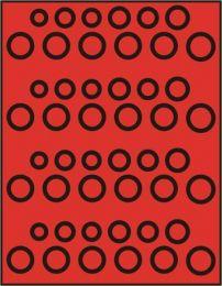 Lindner 2204 muntenbox  standaard R-DM set